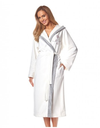 "Bathrobe ""Linnea Cream"""