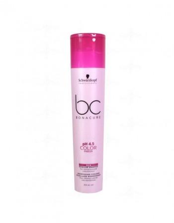 Hair shampoo SCHWARZKOPF BC pH 4.5 Color Freeze