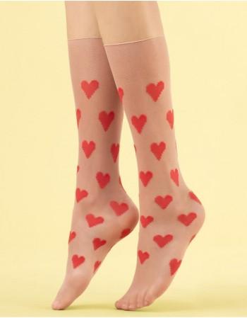 """Women's socks """"Love Me"""" 8 Den"""