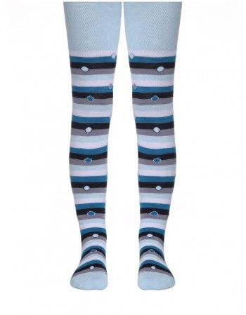 Tights for children ''Bubble Turquoise''