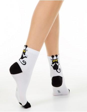"""Women's socks """"Black Cat"""""""