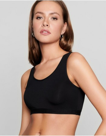 "Rinnahoidja Bralette ""Little Black"""