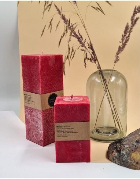Kvepianti Kvadratinė Žvakė Miško Bučiniai