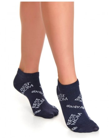 "Women's socks ''Norra Blue"""