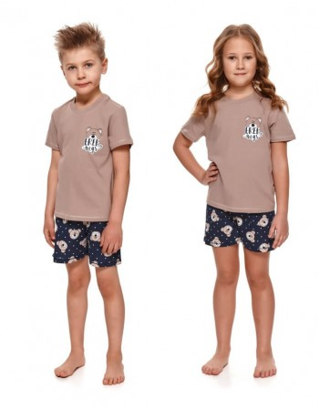 "Children's pajamas ""Brown Hugs"""