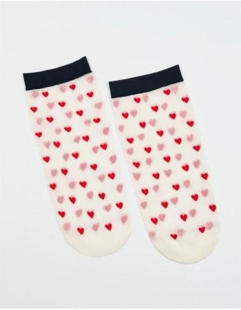 """Women's socks """"Heart"""""""