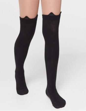 """Children's socks """"Longy Black"""""""