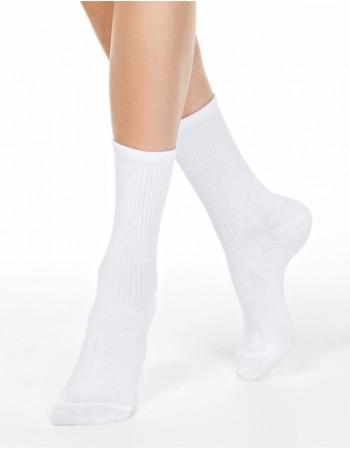 """Women's socks """"Comfy White"""""""