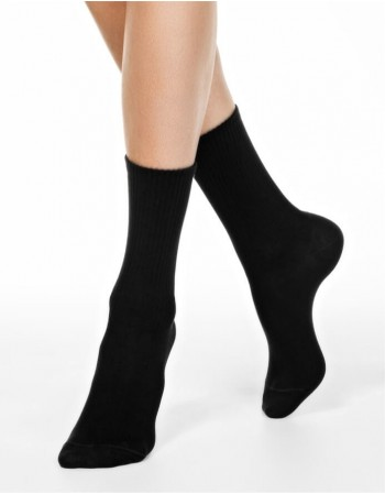 "Women's socks ""Comfy Black"""