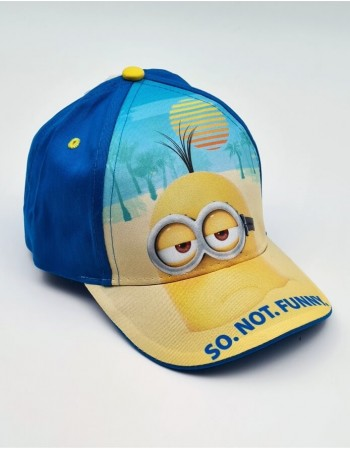 "Vaikiška kepurė ""Minions so not funny"""