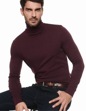 "Men's blouse ""Lee Dark Bordo"""