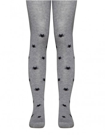 Tights for children ''Cats Grey''