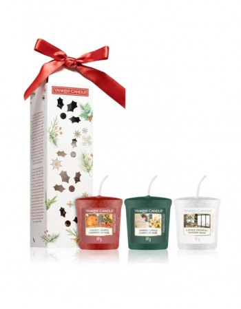 Scented candle YANKEE CANDLE, Magical Christmas Morning Kit 3vnt., 49 g