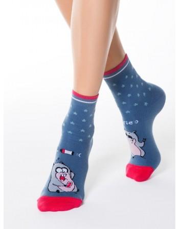 """Women's socks """"Selfie2"""""""