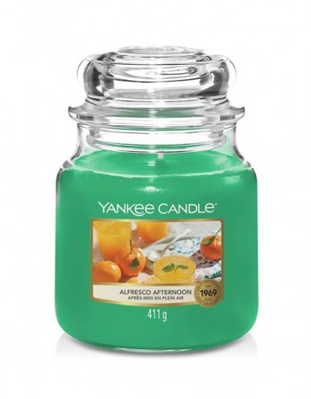 Scented candle YANKEE CANDLE, Alfresco Afternoon, 411 g