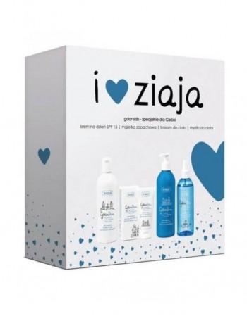 Komplekt ZIAJA, GdanSkin facial SPF15+balm+soap+mist