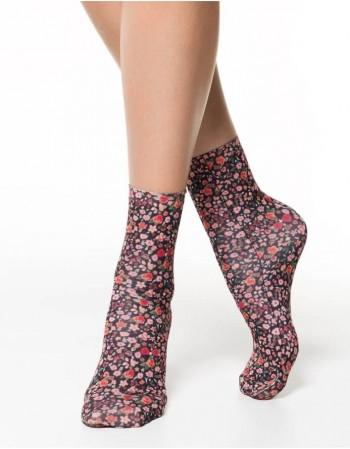 """Women's socks """"Field Of Flowers"""""""