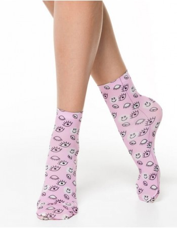 "Women's socks ""Funny Eyes"""