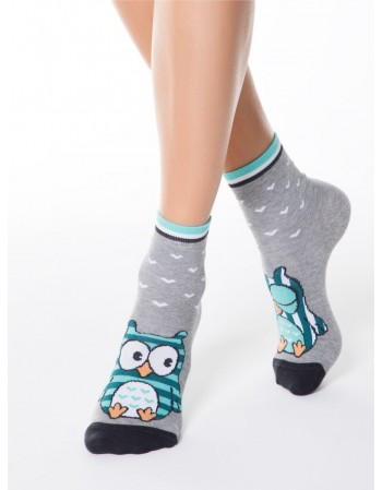"""Women's socks """"Happy Owl"""""""